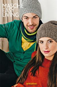 """Mütze, Socken, Hasen, Decken: Die """"Masche Easy Living"""" bietet zahlreiche kostenlose Anleitungen für DIY-Projekte. Foto: Initiative Handarbeit"""