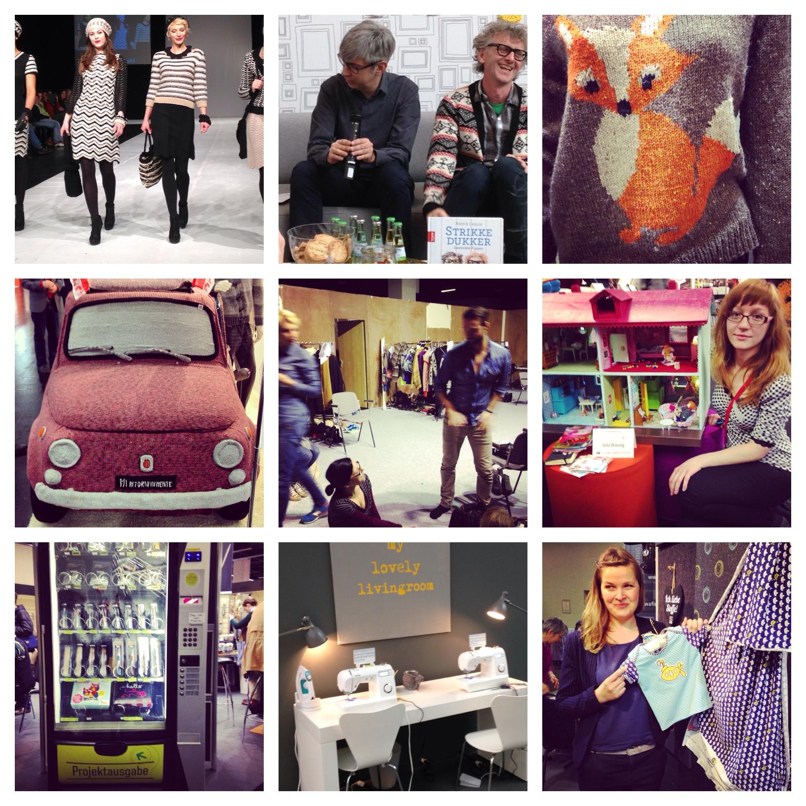 Meine Instagram-Highlights von der Handarbeitsmesse. Fotos: Sandra Cantzler