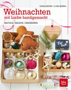 """Jede Menge tolle Bastelprojekte: Das wunderbare Buch """"Weihnachten mit Liebe handgemacht"""". Foto: BLV Verlag"""