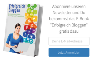 E-Book erfolgreich bloggen